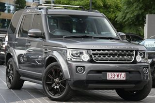2016 Land Rover Discovery Series 4 L319 MY16.5 TDV6 Grey 8 Speed Sports Automatic Wagon.