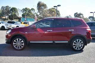 2012 Nissan Dualis J107 Series 3 MY12 +2 Hatch X-tronic 2WD Ti Red/Black 6 Speed Constant Variable