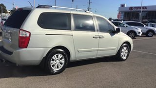 2011 Kia Carnival VQ MY11 S Silver 4 Speed Sports Automatic Wagon.
