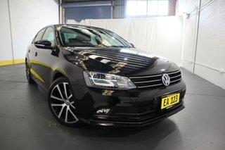 2015 Volkswagen Jetta 1B MY15 155TSI DSG Highline Sport Black 6 Speed Sports Automatic Dual Clutch.