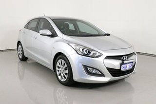 2013 Hyundai i30 GD Active Silver 6 Speed Manual Hatchback.