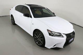 2014 Lexus GS350 GRL10R MY14 F Sport White 8 Speed Automatic Sedan