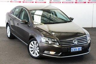 2012 Volkswagen Passat 3C MY13 118 TSI Brown 7 Speed Auto Direct Shift Sedan.