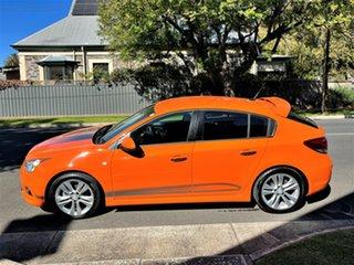 2013 Holden Cruze JH Series II MY14 SRi-V Orange 6 Speed Sports Automatic Hatchback