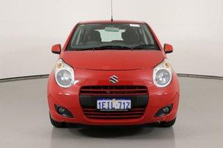 2013 Suzuki Alto GF MY12 GL Red 4 Speed Automatic Hatchback.