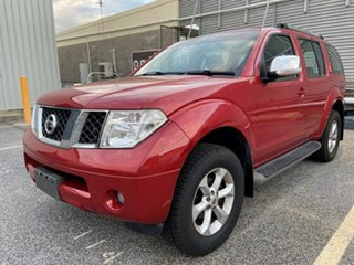 2005 Nissan Pathfinder R51 ST-L Red 6 Speed Manual Wagon.