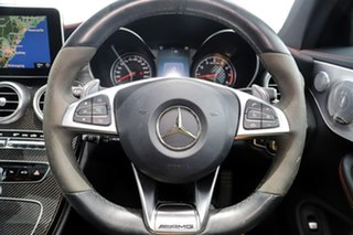 2016 Mercedes-Benz C-Class C205 C43 AMG 9G-Tronic 4MATIC Black 9 Speed Sports Automatic Coupe