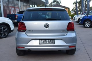 2014 Volkswagen Polo 6R MY15 81TSI DSG Comfortline Silver 7 Speed Sports Automatic Dual Clutch