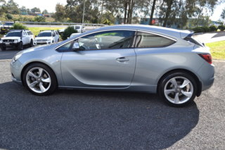 2015 Holden Astra PJ MY15.5 GTC Sport Silver 6 Speed Automatic Hatchback