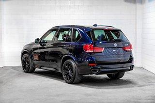 2017 BMW X5 F15 xDrive30d Black 8 Speed Sports Automatic Wagon.
