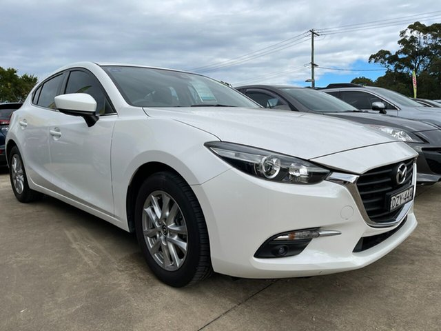 Used Mazda 3 BM5478 Touring SKYACTIV-Drive Glendale, 2016 Mazda 3 BM5478 Touring SKYACTIV-Drive White 6 Speed Sports Automatic Hatchback