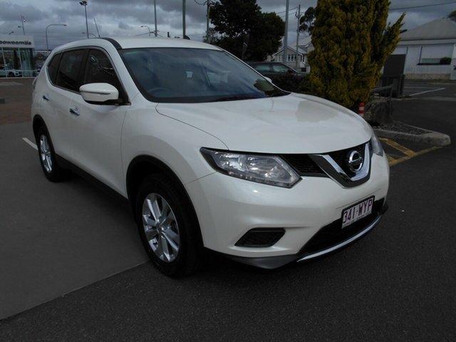 Used Nissan X-Trail T32 ST X-tronic 4WD Toowoomba, 2016 Nissan X-Trail T32 ST X-tronic 4WD White 7 Speed Constant Variable Wagon