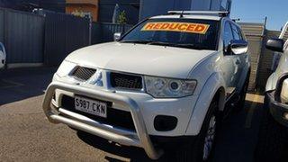 2009 Mitsubishi Challenger PB LS (5 Seat) (4x4) White 5 Speed Automatic Wagon