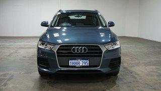 2016 Audi Q3 8U MY17 TDI S Tronic Quattro Blue 7 Speed Sports Automatic Dual Clutch Wagon