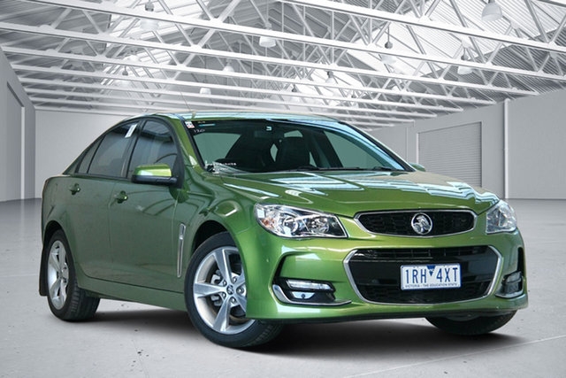 Used Holden Commodore VF II SV6 Altona North, 2016 Holden Commodore VF II SV6 Green 6 Speed Automatic Sedan