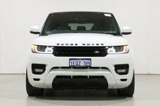 2015 Land Rover Range Rover LW MY15 Sport 3.0 TDV6 SE White 8 Speed Automatic Wagon.