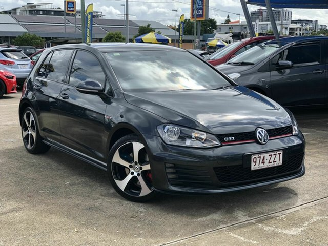 Used Volkswagen Golf VII MY15 GTI DSG Chermside, 2015 Volkswagen Golf VII MY15 GTI DSG Grey 6 Speed Sports Automatic Dual Clutch Hatchback