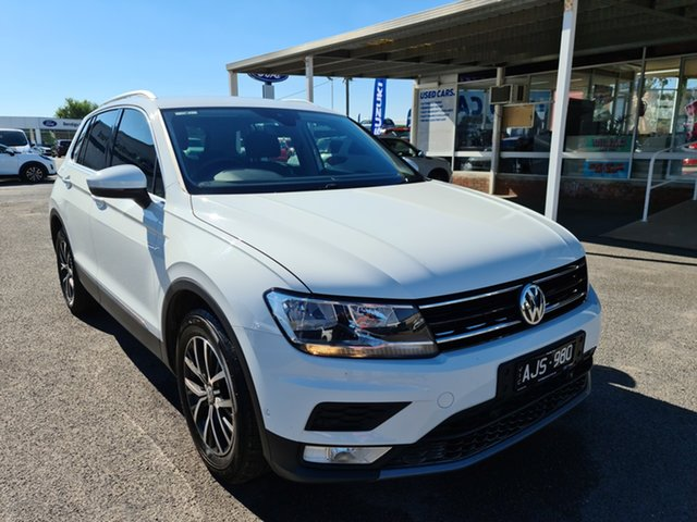 Used Volkswagen Tiguan 5N MY17 110TSI DSG 2WD Comfortline Epsom, 2016 Volkswagen Tiguan 5N MY17 110TSI DSG 2WD Comfortline Pure White 6 Speed