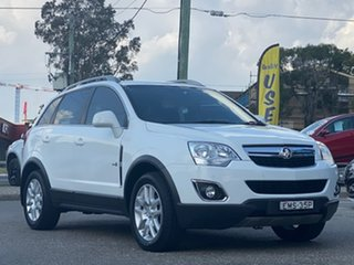 2012 Holden Captiva CG Series II MY12 5 AWD White 6 Speed Sports Automatic Wagon