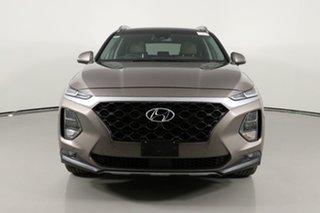 2018 Hyundai Santa Fe TM Highlander CRDi Satin AWD Bronze 8 Speed Automatic Wagon.