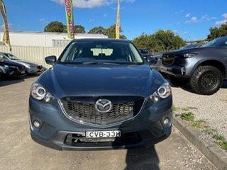 2014 Mazda CX-5 KE1031 MY14 Maxx SKYACTIV-Drive AWD Sport Blue 6 Speed Sports Automatic Wagon.