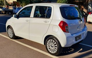 2015 Suzuki Celerio LF White 1 Speed Constant Variable Hatchback