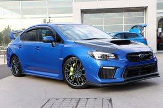 2018 Subaru WRX V1 MY18 STI AWD spec.R WR Blue 6 Speed Manual Sedan.