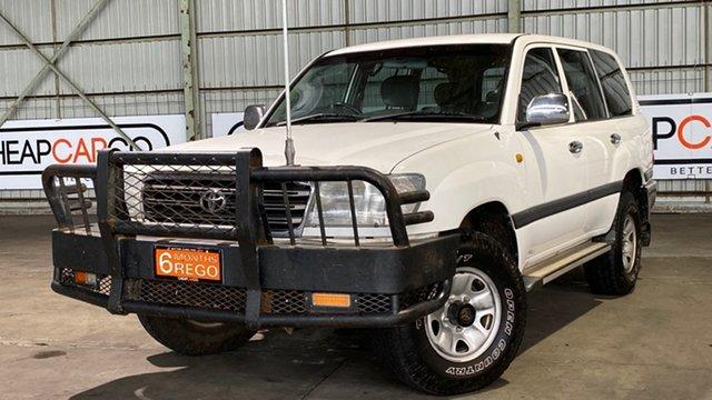 Used Toyota Landcruiser UZJ100R GXL Rocklea, 2005 Toyota Landcruiser UZJ100R GXL White 5 Speed Automatic Wagon