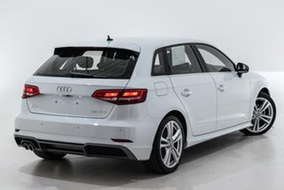 2020 Audi A3 8V MY20 35 TFSI Sportback S Tronic S Line Plus White 7 Speed.