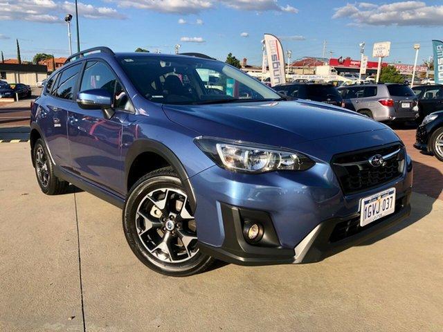 Used Subaru XV MY19 2.0I Victoria Park, 2019 Subaru XV MY19 2.0I Blue Continuous Variable Wagon