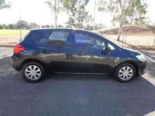 2009 Toyota Corolla ZRE152R Ascent Black 4 Speed Automatic Hatchback.