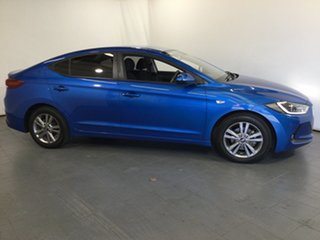 2017 Hyundai Elantra AD MY17 Active Blue 6 Speed Sports Automatic Sedan
