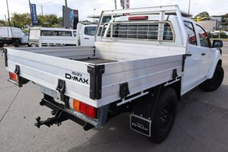 2015 Isuzu D-MAX MY15 SX Crew Cab White 5 Speed Manual Cab Chassis.