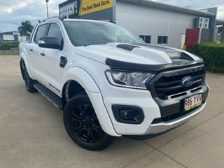 2019 Ford Ranger PX MkIII 2019.00MY Wildtrak White/170619 10 Speed Sports Automatic.