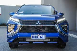 2021 Mitsubishi Eclipse Cross YB MY21 Exceed 2WD Lightning Blue 8 Speed Constant Variable Wagon.