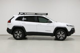 2014 Jeep Cherokee KL Trailhawk (4x4) White 9 Speed Automatic Wagon