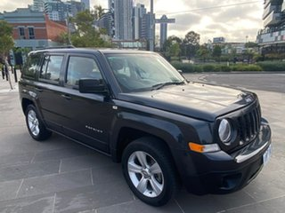 2014 Jeep Patriot MK MY14 Sport 4x2 Grey 5 Speed Manual Wagon