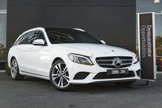 2021 Mercedes-Benz C-Class S205 801MY C200 Estate 9G-Tronic Polar White 9 Speed Sports Automatic.