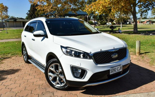 Used Kia Sorento UM MY17 Platinum AWD Ingle Farm, 2017 Kia Sorento UM MY17 Platinum AWD White 6 Speed Sports Automatic Wagon