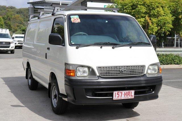 Used Toyota HiAce RZH113R LWB Robina, 2004 Toyota HiAce RZH113R LWB White 5 speed Manual Van