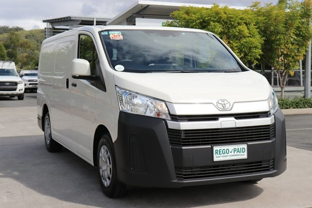 Used Toyota HiAce GDH300R LWB Robina, 2020 Toyota HiAce GDH300R LWB French Vanilla 6 speed Automatic Van