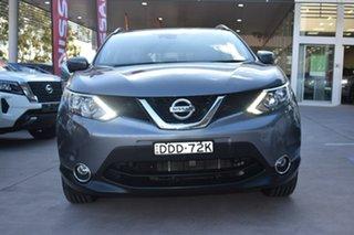 2015 Nissan Qashqai J11 TI Gun Metallic 1 Speed Constant Variable Wagon.