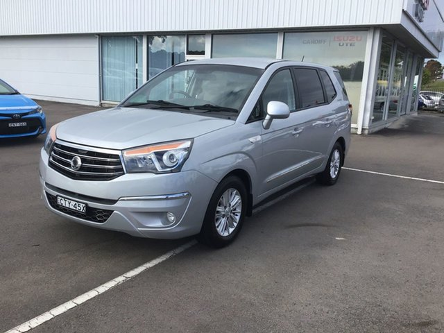 Used Ssangyong Stavic A100 MY14 Cardiff, 2014 Ssangyong Stavic A100 MY14 Silver 5 Speed Sports Automatic Wagon