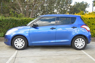 2011 Suzuki Swift FZ GA Blue 4 Speed Automatic Hatchback