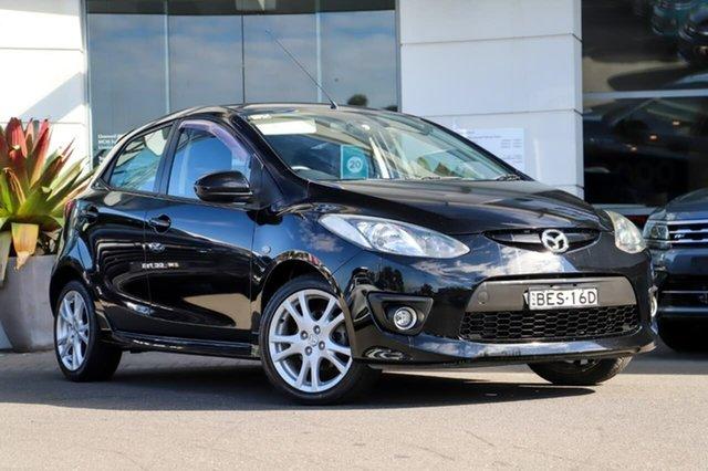 Used Mazda 2 DE10Y1 Genki Sutherland, 2007 Mazda 2 DE10Y1 Genki Black 4 Speed Automatic Hatchback