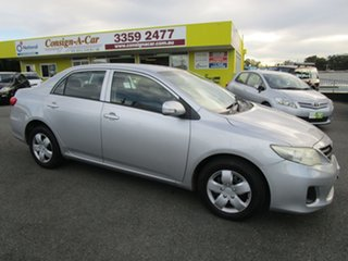 2010 Toyota Corolla ZRE152R MY10 Ascent Silver 4 Speed Automatic Sedan.