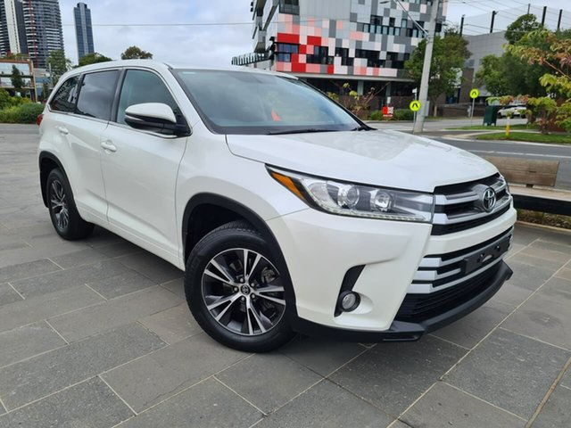 Used Toyota Kluger GSU55R GX AWD South Melbourne, 2017 Toyota Kluger GSU55R GX AWD White 8 Speed Sports Automatic Wagon