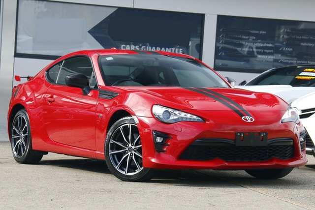 Used Toyota 86 ZN6 GTS Homebush, 2018 Toyota 86 ZN6 GTS Red 6 Speed Sports Automatic Coupe
