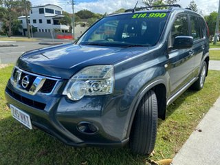 2013 Nissan X-Trail T31 Series V ST 2WD Blue 1 Speed Constant Variable Wagon.