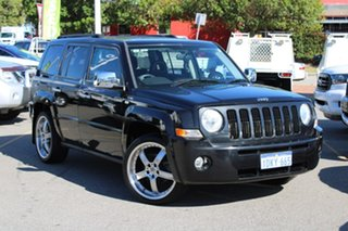 2009 Jeep Patriot MK MY2009 Sport Black 5 Speed Manual Wagon.